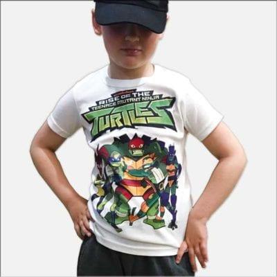 Детские футболки на заказ с картинками