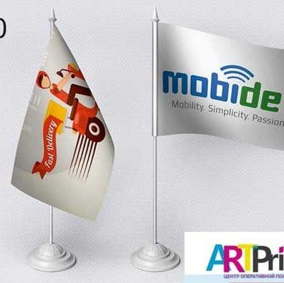 Заказать настольные флаги (флажки) на палочке в Кривом Роге