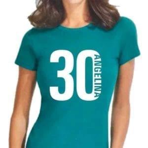 Футболка женская с логотипом А3