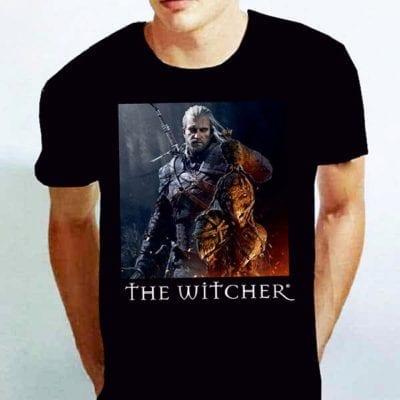 футболка ведьмак